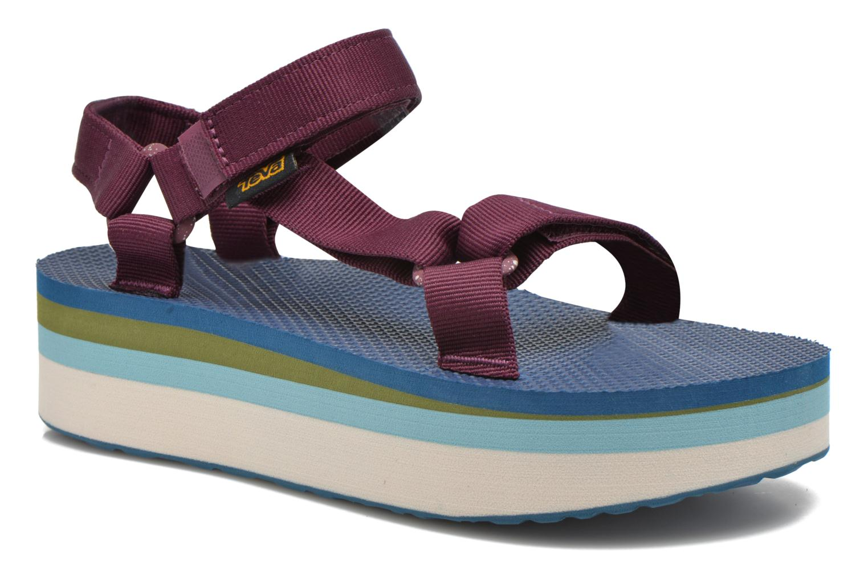 Sandali e scarpe aperte Teva Flatform Universal Retro Viola vedi dettaglio/paio