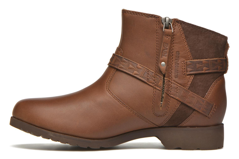 Bottines et boots Teva Delavina Ankle - Mosaic Marron vue face