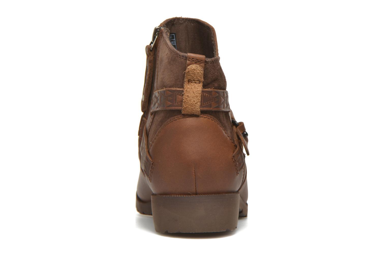 Bottines et boots Teva Delavina Ankle - Mosaic Marron vue droite