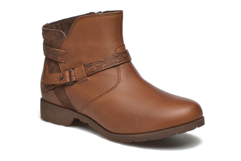 Bottines et boots Teva Delavina Ankle - Mosaic Marron vue détail/paire