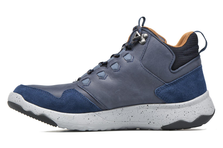 Chaussures de sport Teva Arrowood Lux Mid WP Bleu vue face