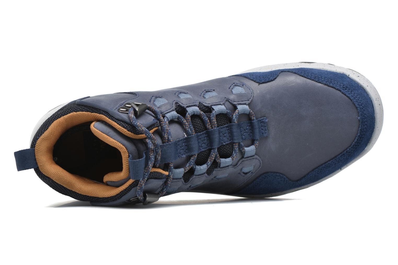 Chaussures de sport Teva Arrowood Lux Mid WP Bleu vue gauche