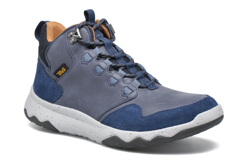 Chaussures de sport Teva Arrowood Lux Mid WP Bleu vue détail/paire