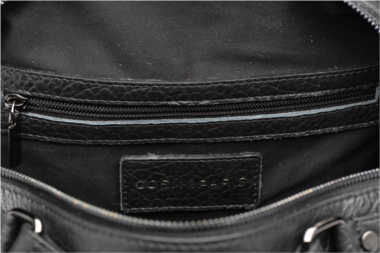 Sacs à main COSMOPARIS OMEA/BUL Double porté Cuir Noir vue derrière