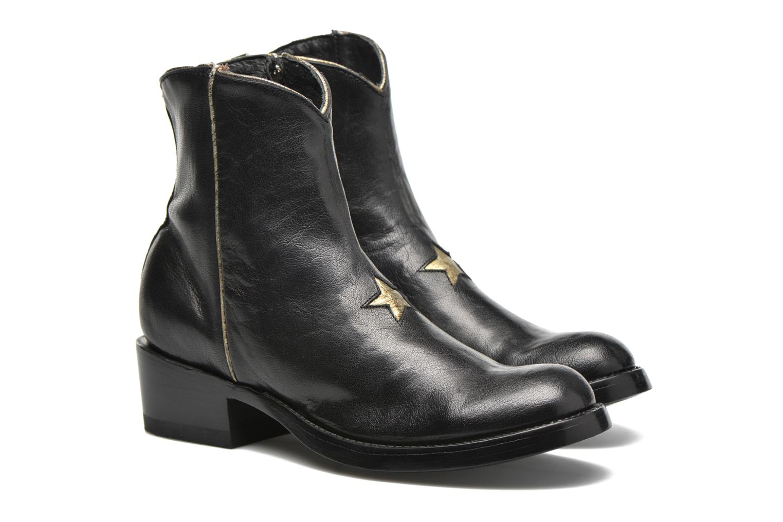 Bottines et boots Mexicana Star New Noir vue 3/4