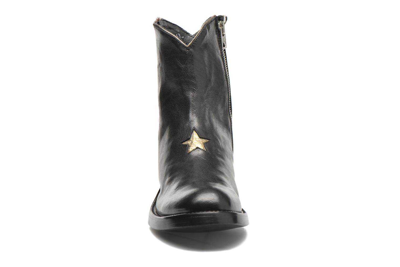 Bottines et boots Mexicana Star New Noir vue portées chaussures