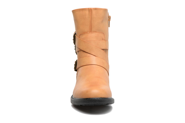 Bottines et boots Vero Moda Milano Boot Marron vue portées chaussures