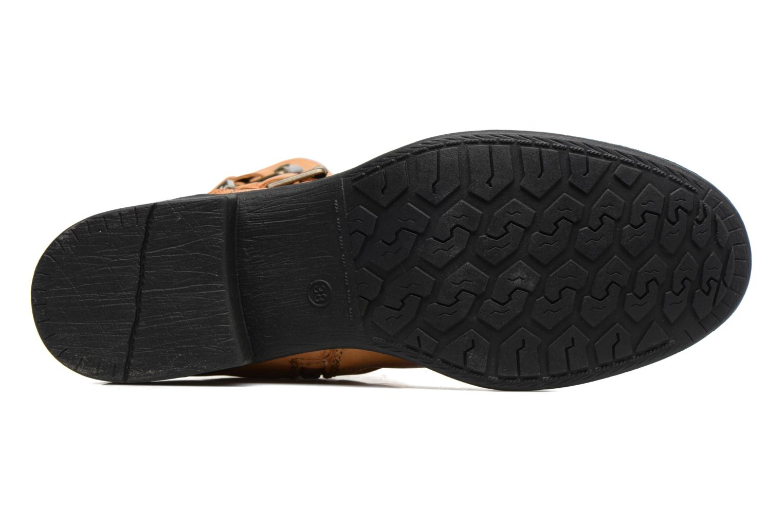 Bottines et boots Vero Moda Milano Boot Marron vue haut