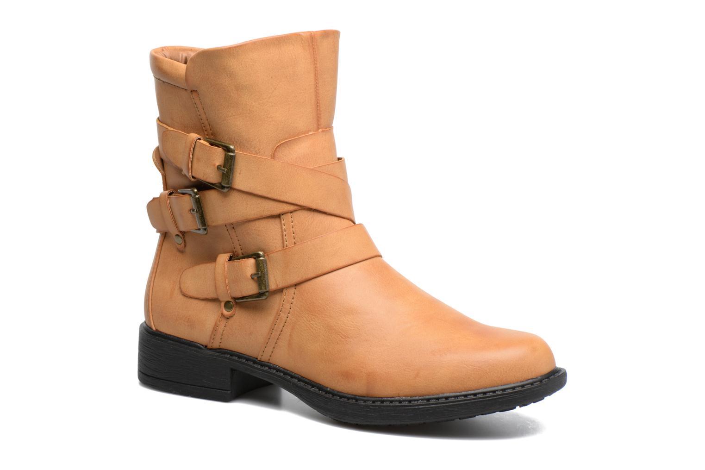 Bottines et boots Vero Moda Milano Boot Marron vue détail/paire