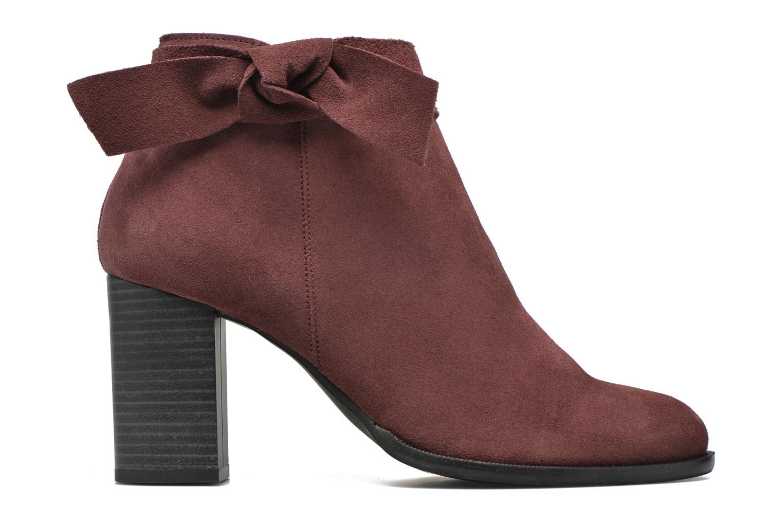 Bottines et boots Vero Moda Fena Leather Boot Bordeaux vue derrière
