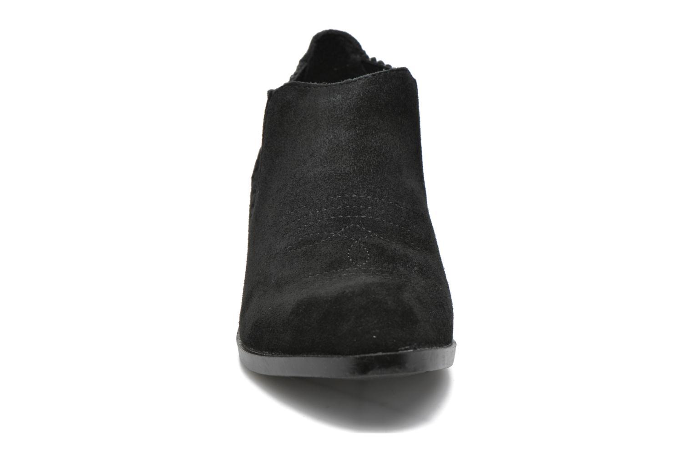 Bottines et boots Vero Moda Western Leather Low Boot Noir vue portées chaussures