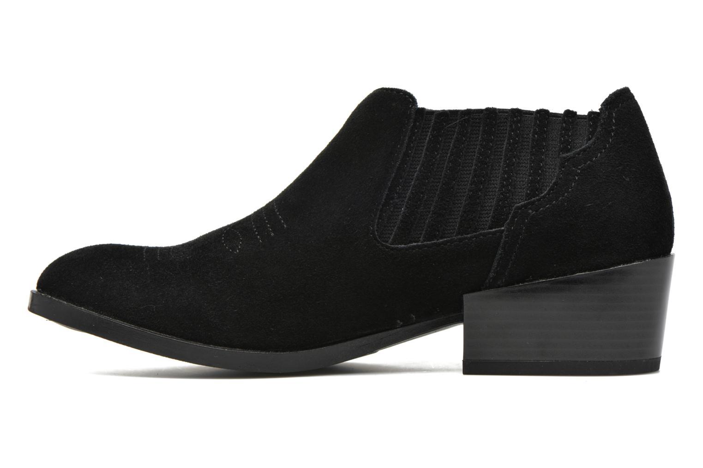 Bottines et boots Vero Moda Western Leather Low Boot Noir vue face