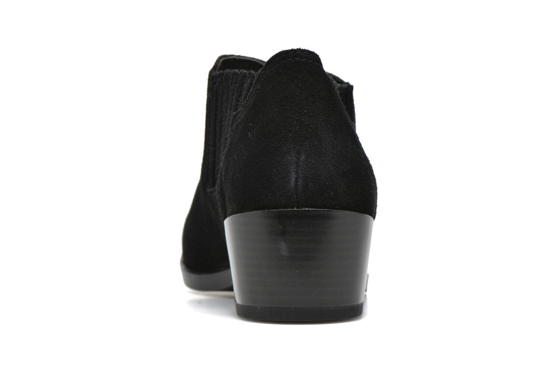 Bottines et boots Vero Moda Western Leather Low Boot Noir vue droite