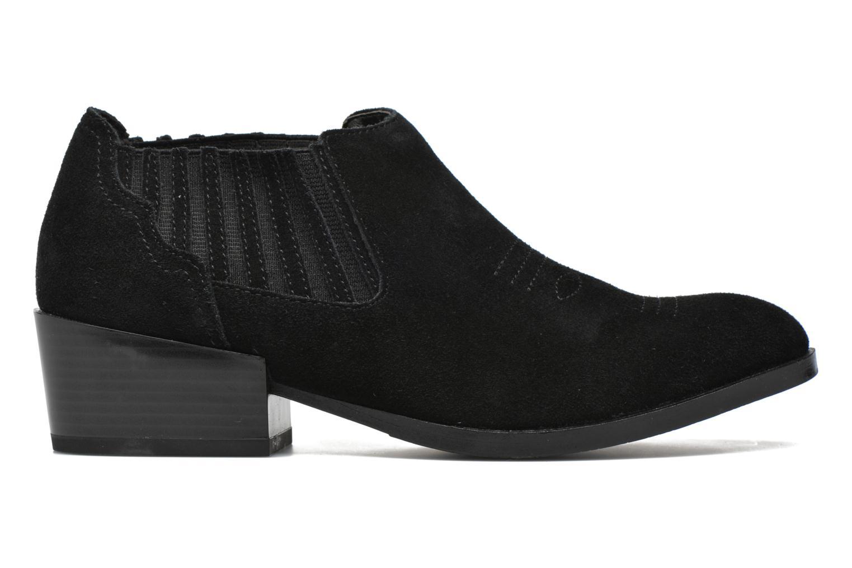 Bottines et boots Vero Moda Western Leather Low Boot Noir vue derrière