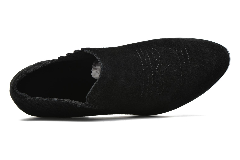 Bottines et boots Vero Moda Western Leather Low Boot Noir vue gauche