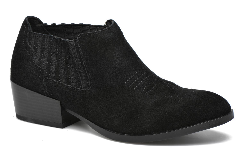 Bottines et boots Vero Moda Western Leather Low Boot Noir vue détail/paire