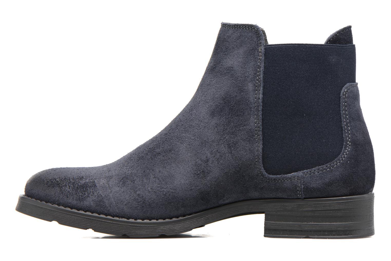 Bottines et boots Vero Moda Sofie Leather Boot Bleu vue face