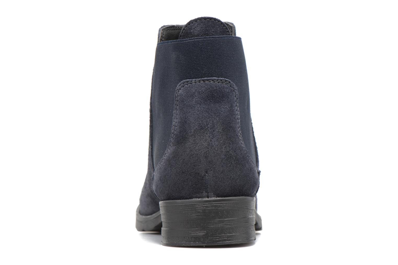 Bottines et boots Vero Moda Sofie Leather Boot Bleu vue droite