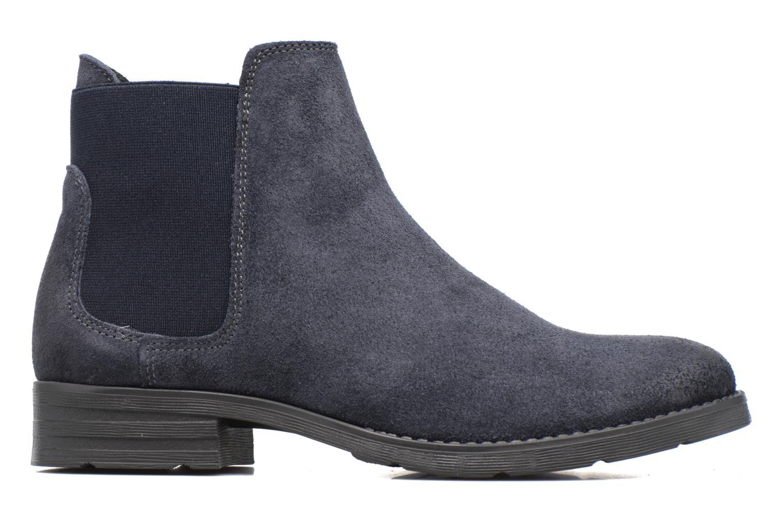 Bottines et boots Vero Moda Sofie Leather Boot Bleu vue derrière