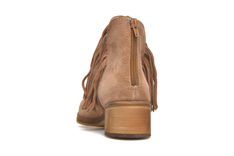 Bottines et boots Vero Moda Laure Leather Boot Marron vue droite