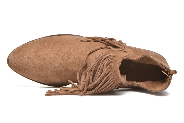 Bottines et boots Vero Moda Laure Leather Boot Marron vue gauche