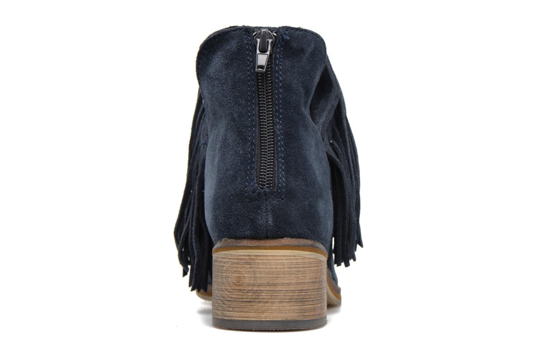 Bottines et boots Vero Moda Laure Leather Boot Bleu vue droite