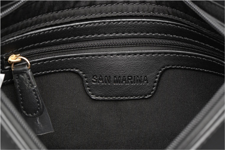 Sacs pochettes San Marina BIOMA Sac pochette Noir vue derrière