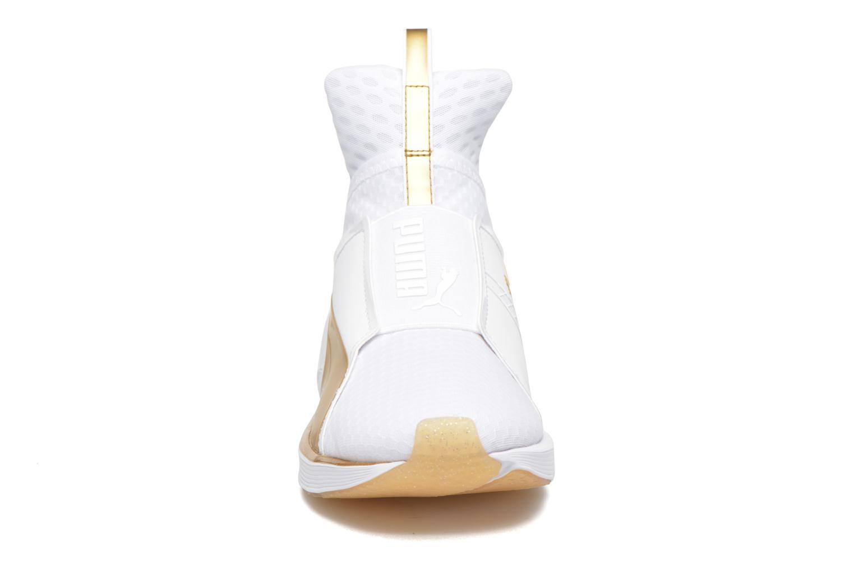 Baskets Puma Wns Fierce Blanc vue portées chaussures