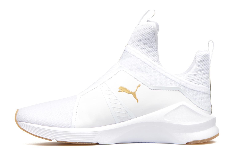 Baskets Puma Wns Fierce Blanc vue face