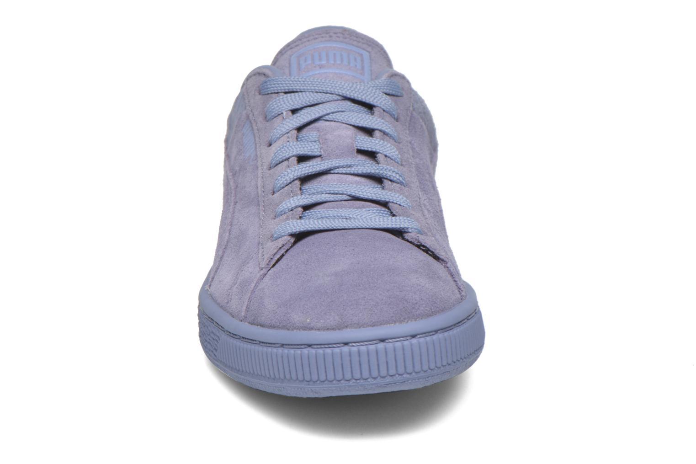 Baskets Puma Suede Classic Casual W Violet vue portées chaussures
