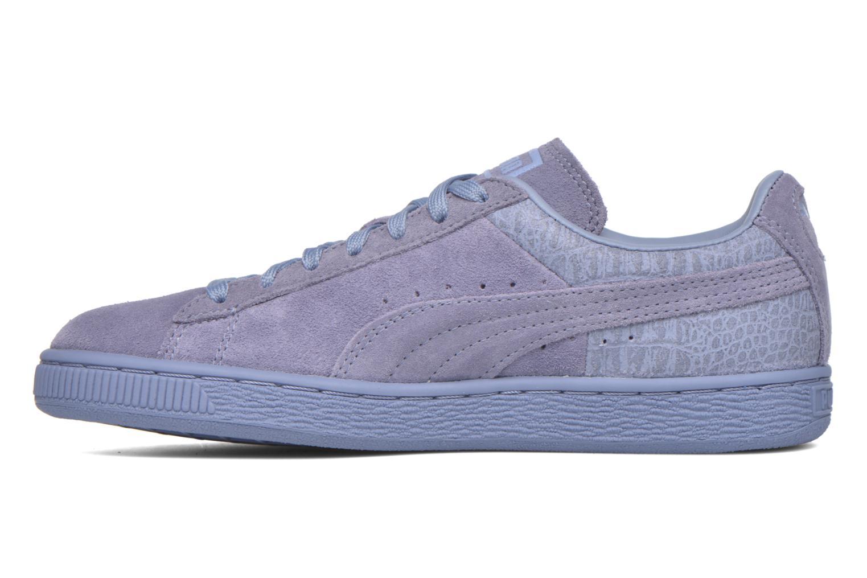 Sneaker Puma Suede Classic Casual W lila ansicht von vorne