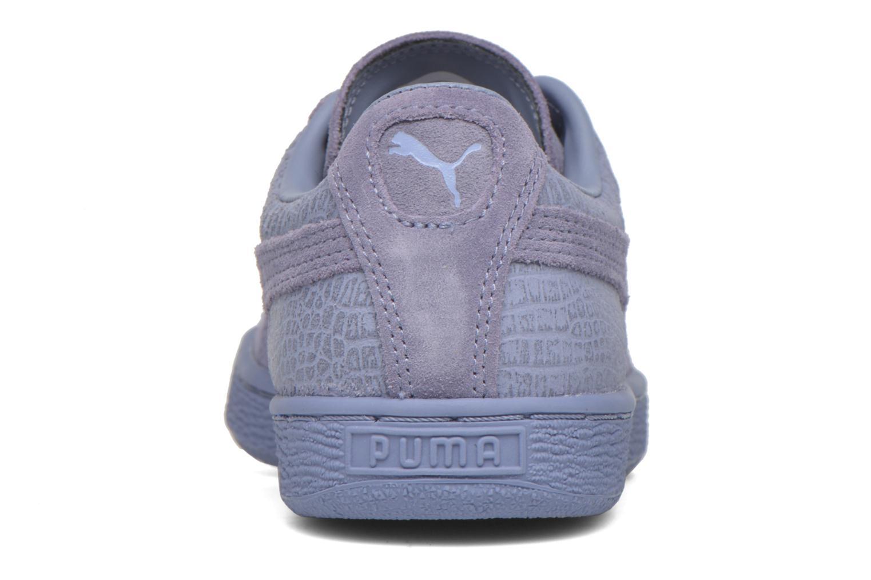 Baskets Puma Suede Classic Casual W Violet vue droite