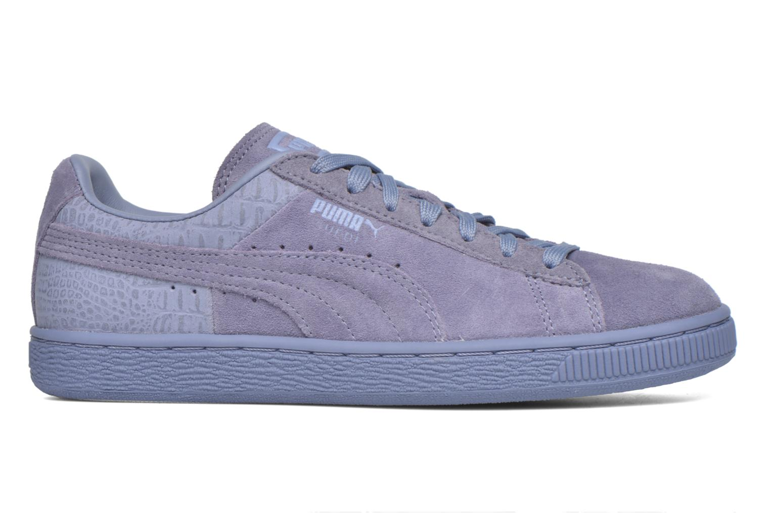 Trainers Puma Suede Classic Casual W Purple back view