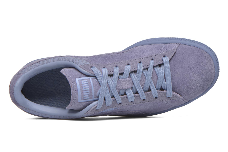 Sneaker Puma Suede Classic Casual W lila ansicht von links