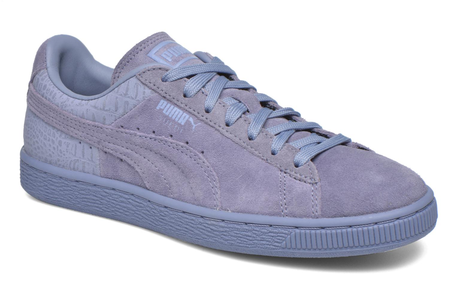 Trainers Puma Suede Classic Casual W Purple detailed view/ Pair view