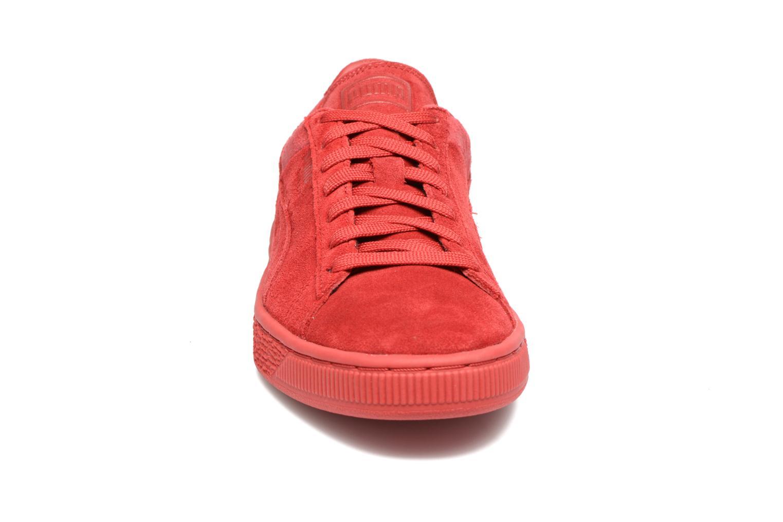 Sneaker Puma Suede Classic Casual W rot schuhe getragen