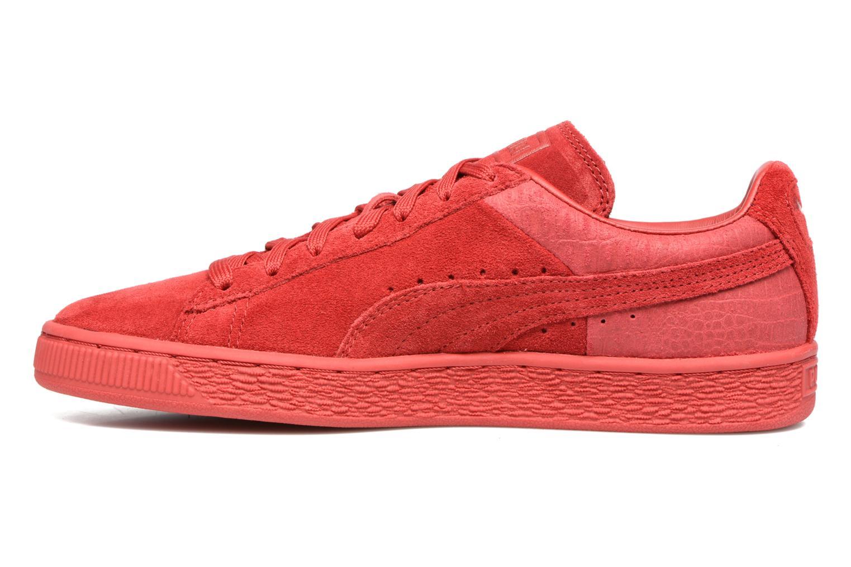 Sneaker Puma Suede Classic Casual W rot ansicht von vorne