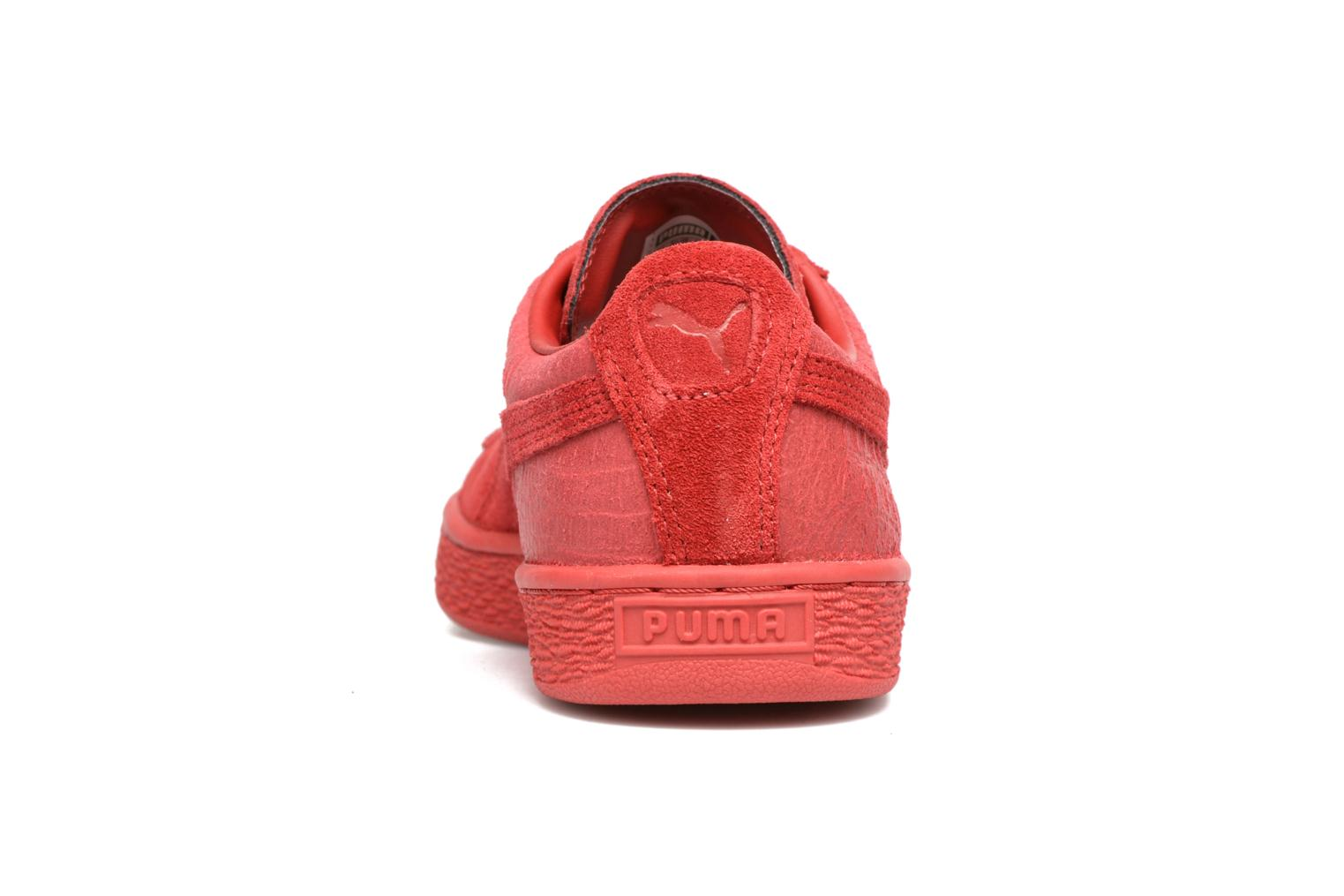 Trainers Puma Suede Classic Casual W Red view from the right