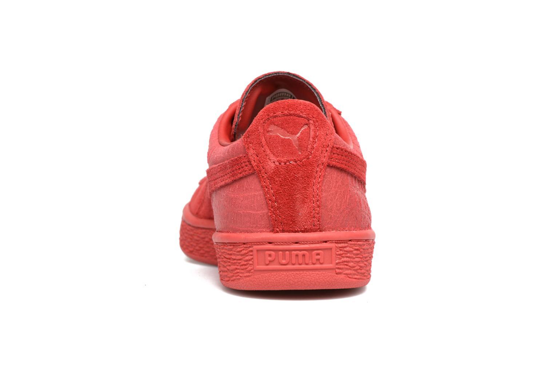 Sneaker Puma Suede Classic Casual W rot ansicht von rechts