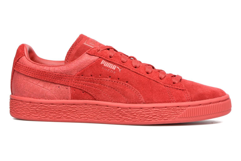 Sneaker Puma Suede Classic Casual W rot ansicht von hinten
