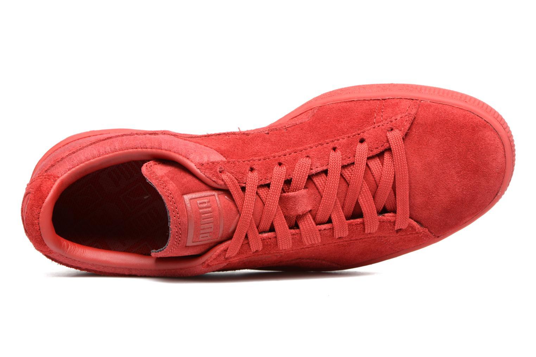 Sneaker Puma Suede Classic Casual W rot ansicht von links