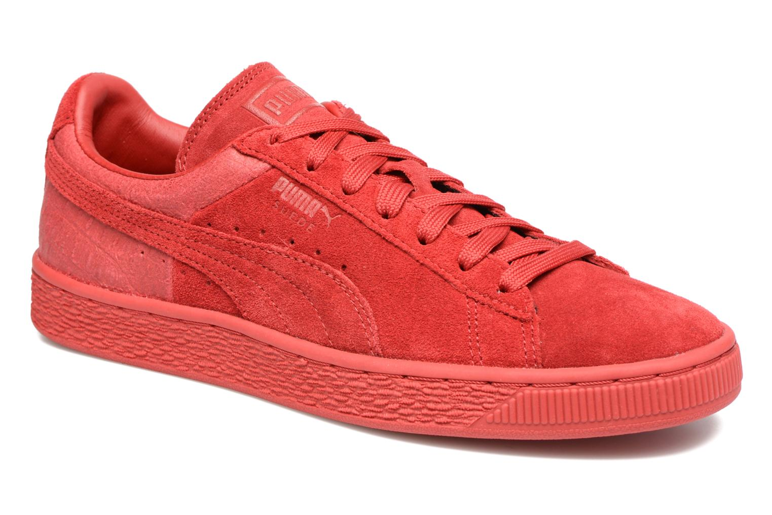 Trainers Puma Suede Classic Casual W Red detailed view/ Pair view
