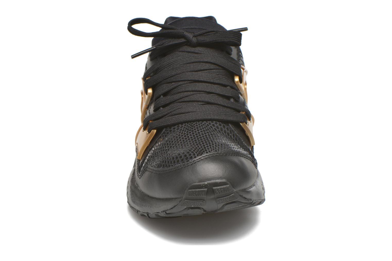 Sneaker Puma Wnbs Blaze schwarz schuhe getragen