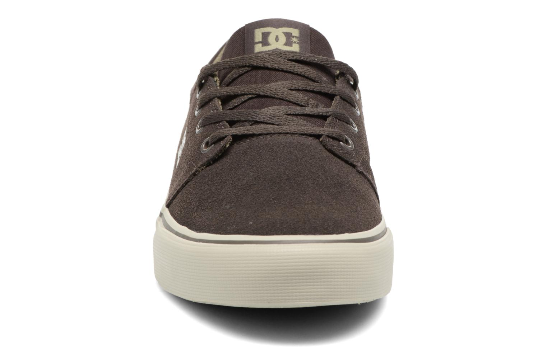 Baskets DC Shoes Trase SD M Vert vue portées chaussures