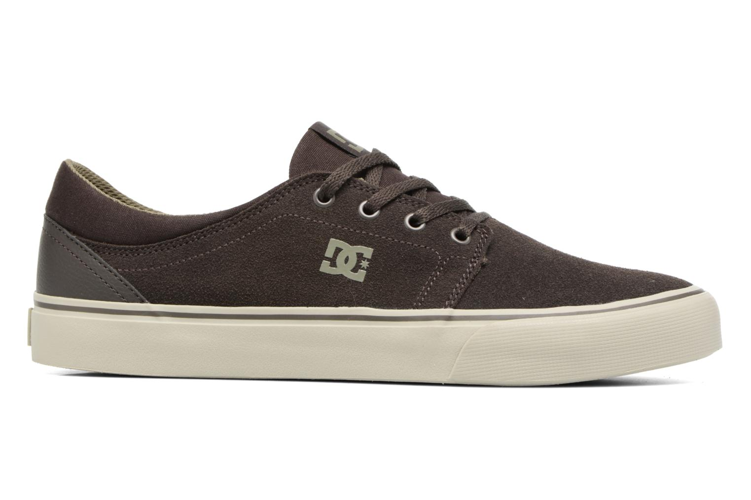 Trainers DC Shoes Trase SD M Green back view