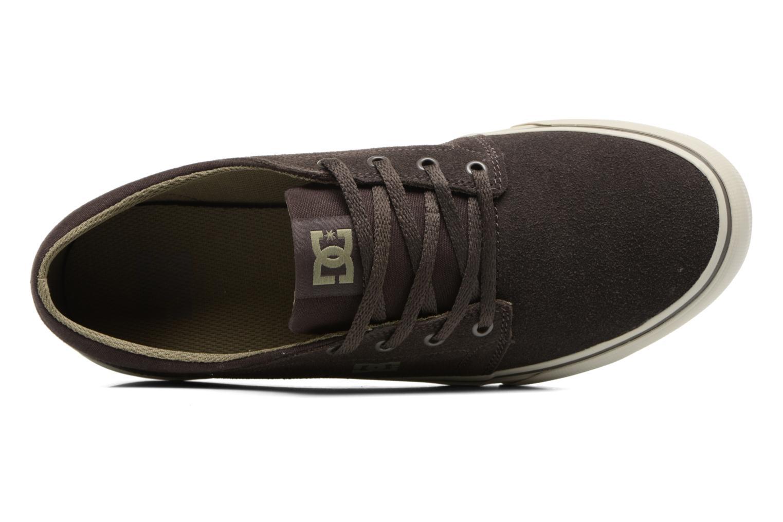 Sneaker DC Shoes Trase SD M grün ansicht von links