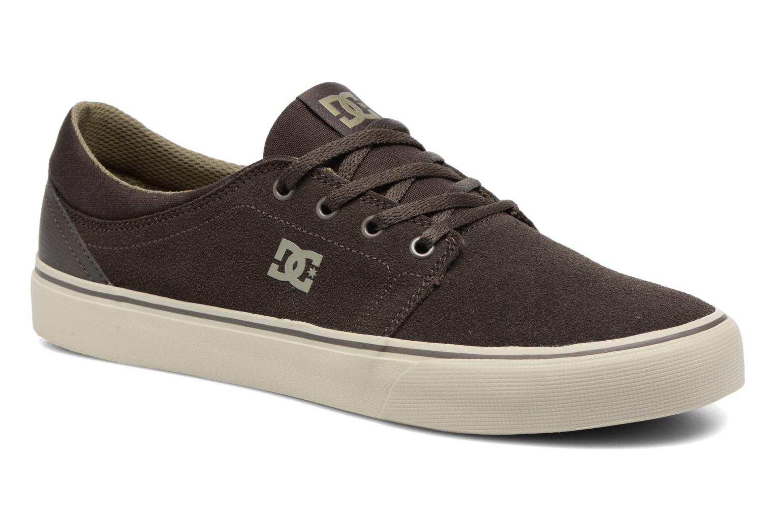 Trainers DC Shoes Trase SD M Green detailed view/ Pair view