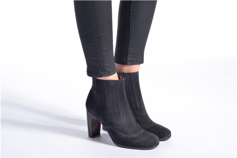 Bottines et boots Chie Mihara Anvers Or et bronze vue bas / vue portée sac