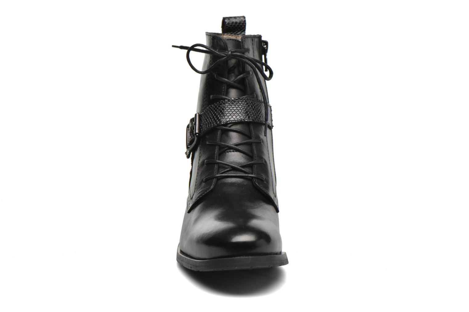 Ankle boots HE Spring Coton Black model view