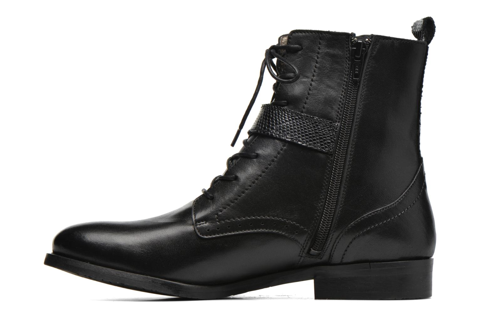 Ankle boots HE Spring Coton Black front view